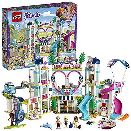 LEGO 41347 Friends - Il Resort di Heartlake City, Set di Costruzioni, 1017 pezzi, per Bambini dai 7 anni,...