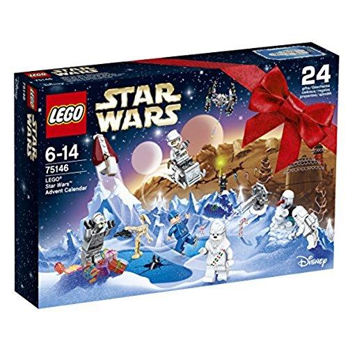 LEGO Star Wars 75146 Calendario dell'Avvento , 8 Minifigure, Battle Droid