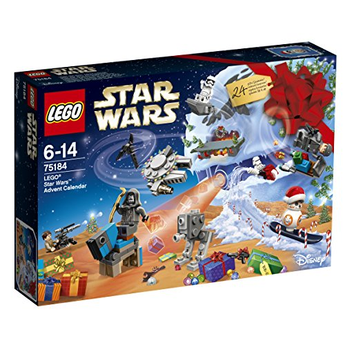LEGO- Star Wars Calendario dell'Avvento, Multicolore, 75184