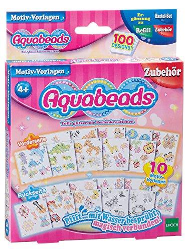 Aquabeads 79428 - Set di modelli per lavoretti manuali con perline (perline non incluse)