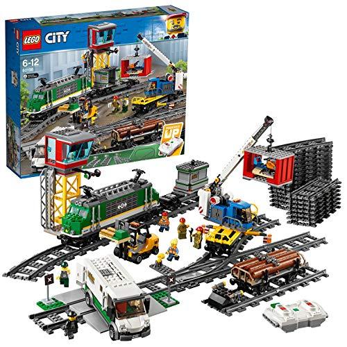 LEGOCityTrainsTrenoMerci,MotoreAlimentatoaBatteria,perBambinidai6AnniinPoi,�...