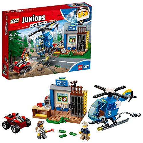 LEGO- Juniors Inseguimento della Polizia di Montagna, Multicolore, 10751