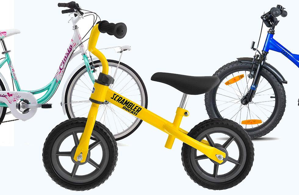 Le migliori bici per bambini