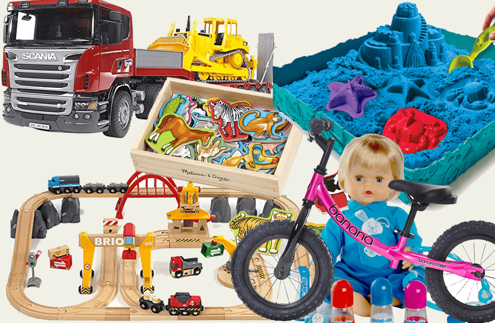 I migliori Regali per Bambini di 3 anni: scegli i giochi